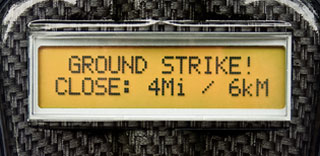 StormPro2 screen closeup GROUND STRIKE